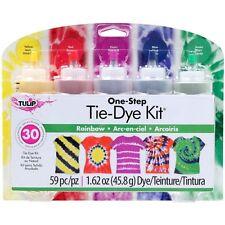 Tulip One Step Tie Dye 5 Colours Kits in Carousel, Luau, Neon, Rainbow, Ultimate