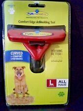Furminator Comfort Edge Contoured deShedding Tool Large Dog All Hair (51-90 lbs)