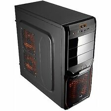 Aerocool V3x Advance Black-orange Edition Usb3.0 s/f