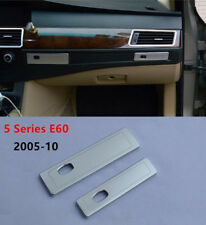 Car Co-pilot Water Cup Holder Panel Cover Trim For BMW 5 series E60 2005-2010