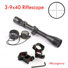 1PCS Crosshair Reticle Mil Dot 3-9x40 Airsoft Riflescope Rifle Scope Laser Sight
