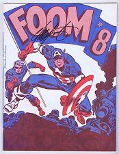 Foom Magazine #8 Signed w/COA Chris Claremont VF 1974 Silver Surfer Marvel