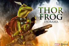 Sideshow Marvel Comics Thor Frog Throg Diorama Statue MISB In Stock