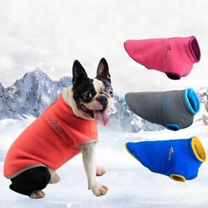 Winter Pet Dog Clothes Warm Sweater Coat Puppy Polar Fleece Vest Jacket Apparel