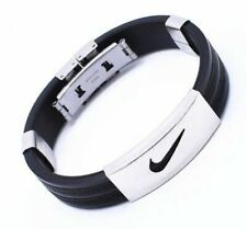 Nike Stainless Steel Silicone Bracelet