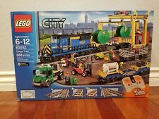 LEGO City Cargo Train (60052) - New In Sealed Box with Factory Seals Retired set
