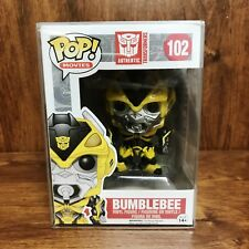 Pop Movies Transformers : Bumblebee #102 Vinyl Figure w/Protector (Vaulted MINT""