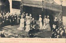 Netherlands Plechtige Opening de Beurs door H.M de Koningin 27 mei 1903 03.52