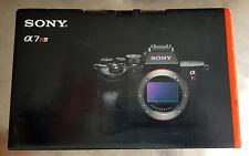 Sony Alpha 7R IV 61MP 35mm Vollformatkamera Gehäuse (ILCE7RM4B.CEC)