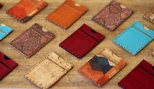 Handmade Eco-Friendly Slim Minimalist Lightweight Card Wallet made of Cork