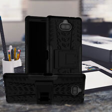 Sony Xperia 10 High End  Shock Resistant RUGGED Design ION ™ Case BLACK