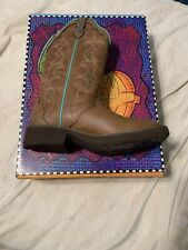 Justin Leather Boots Womens Size 7 NIB