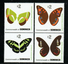 Dominica Stamp - Butterflies Stamp - NH