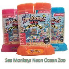 Amazing Live Sea Monkeys Neon Ocean Zoo Marine Monkey Tank Aquarium Habitat