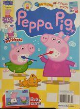 Peppa Pig Jan Feb 2017 Fun to Learn Workbook Posters Inside FREE SHIPPING sb