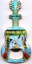 Hard Rock Cafe NIAGARA FALLS NY 2011 V8 City Guitar Bottle Opener Magnet