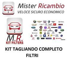 KIT TAGLIANDO FILTRI ALFA ROMEO GIULIETTA 2.0 JTDM 16V COD. MOTORE: 940A5000