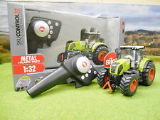 SIKU RADIO CONTROL CLAAS AXION 850 TRACTOR SET 1/32 6882 BRAND NEW