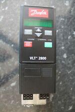 DANFOSS VLT2805PT4B20STR0DBF00A00 P/N.:195N1001 0.55kW VARIABLE FREQUENCY DRIVE