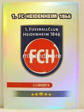 Match coronó 2016/17 2. liga - #424 1. FC Heidenheim-club mapa/escudo