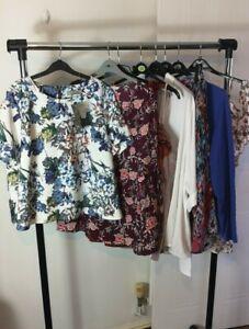Womens Ladies Clothes Bundle Size 22 Sweater Jumper Blouse Shirt Top  KK2