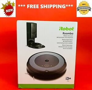 BRAND NEW iRobot ROOMBA i3+ Wi-Fi Connected ROBOT VACUUM Automatic DIRT Disposal