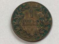 1 Heller Tedesco Ostafrika 1907 J J.716 #03#