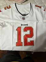 MENS WHITE or RED TOM BRADY TAMPA BAY BUCCANEERS JERSEY SIZE 48 or 52