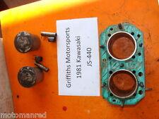 81 82 83 84 80 79 KAWASAKI JS440 STAND UP JS 440 74.5mm CYLINDERS PISTONS BLOCK