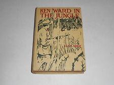 1912 Ken Ward In The Jungle by Zane Grey, Santa Rosa River, Mexico Exploration