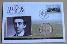"""Titanic Centenary 2012 Cubierta + 2012 Islas Cook 'más cerca de mi Dios para ti """"moneda de $1"""