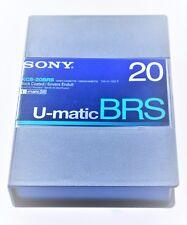 Sony KCS-20BRS U-matic BRS Video Cassette