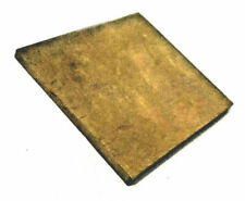 "Brass flat bar square 1/8"" x 7"" x 7"" c360 solid .125"" plate mill stock"