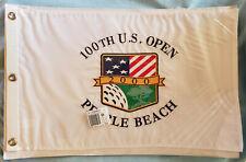 2000 US OPEN GOLF TIGER WOODS WINS PEBBLE BEACH PIN FLAG BRAND NEW!