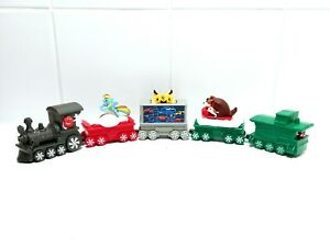 McDonalds Happy Meal Toy Holiday Express Train M&Ms MLP Transformers