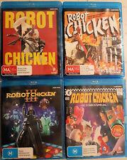 Robot Chicken Collection (Blu-ray x 4) Region A&B