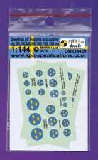Mark I DECALS 1/144 SUECA AF INSIGNIA SIN ESQUEMA #14459