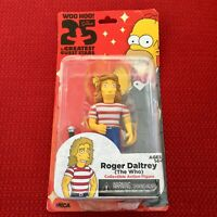 """Roger Daltrey The Who The Simpsons 25th Anniversary 5"""" Figure NECA Brand New"""
