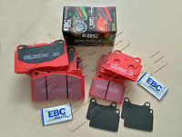 FOR MITSIBUSHI LANCER EVO IX 2.0 16V 06- FRONT REAR EBC RED STUFF BRAKE PAD PADS