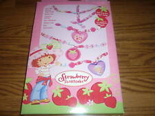 Strawberry Shortcake Scented Roll Up Beads Kit w/ Charms, Beads, Paper Craft Kit
