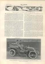 1903 Cs Rolls 80 Hp Mors Racer Orange County Hunt New York State