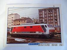 CARTE FICHE TRAIN E 444 DES FS