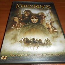 The Lord of the Rings: Fellowship of the Ring (DVD,2002, 2-Disc Widescreen) Used