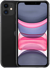 Apple iPhone 11 - 64GB - Black (T-Mobile) Only New