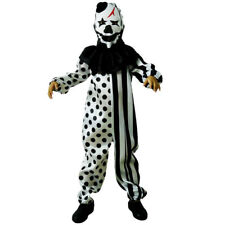 Scary Ghost Clown Child Unisex Fancy Dress Costume
