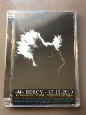 Dvd M - Bercy - concert de La tournée française - neuf - 2010