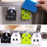 Kitchen Sink Sponge Holder Bathroom Hanging Strainer Organizer Storage Rack New