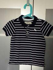 H&M Poloshirt Farbe dunkelblau/weiß gestreift Größe 92