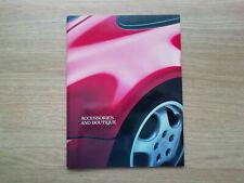 Porsche 1990 Accessories and Boutique Brochure 911 964 928 944 USA
