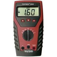 Testboy tb 3000 multimetro portatile digitale cat iv 600 v display counts 2000